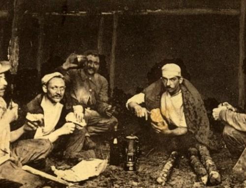 Le Briquet dans la Mine